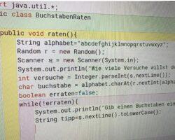 NEU: Online Semesterkurs: Einführung in Java